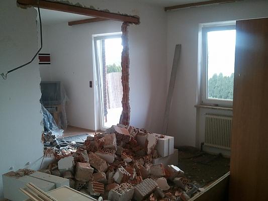 Schritt 3 tr ger einbauen und durchbrechen wenn bei einer - Wanddurchbruch gestalten ...